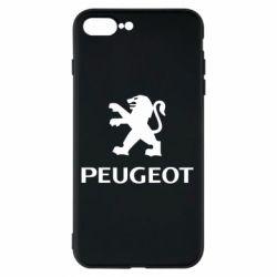 Чехол для iPhone 8 Plus Логотип Peugeot