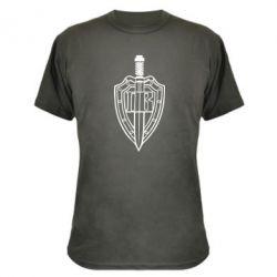 Камуфляжная футболка Логотип Прикордонних військ