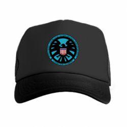 Кепка-тракер Логотип Щита