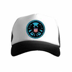 Детская кепка-тракер Логотип Щита