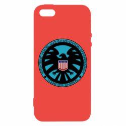 Чехол для iPhone5/5S/SE Логотип Щита