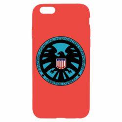 Чехол для iPhone 6/6S Логотип Щита