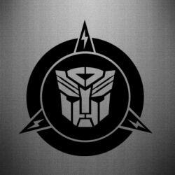 Наклейка Логотип Трансформеры