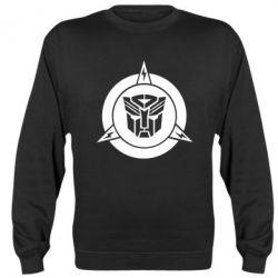 Реглан (свитшот) Логотип Трансформеры