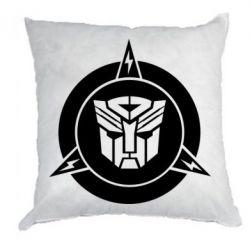 Подушка Логотип Трансформеры
