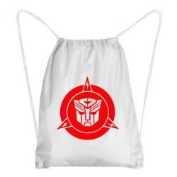 Рюкзак-мешок Логотип Трансформеры
