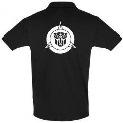 Футболка Поло Логотип Трансформеры