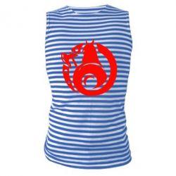Майка-тельняшка Логотип Викинги