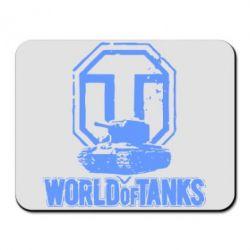 Коврик для мыши Логотип World Of Tanks - FatLine