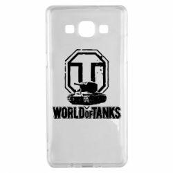 Чехол для Samsung A5 2015 Логотип World Of Tanks