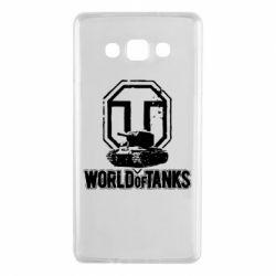Чехол для Samsung A7 2015 Логотип World Of Tanks