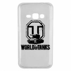 Чехол для Samsung J1 2016 Логотип World Of Tanks