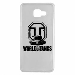 Чехол для Samsung A7 2016 Логотип World Of Tanks