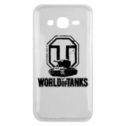 Чехол для Samsung J5 2015 Логотип World Of Tanks