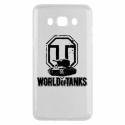 Чехол для Samsung J5 2016 Логотип World Of Tanks