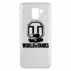 Чехол для Samsung J6 Логотип World Of Tanks