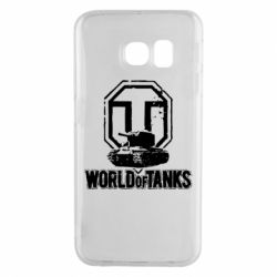 Чехол для Samsung S6 EDGE Логотип World Of Tanks