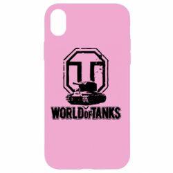 Чехол для iPhone XR Логотип World Of Tanks