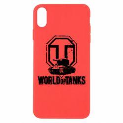 Чехол для iPhone Xs Max Логотип World Of Tanks