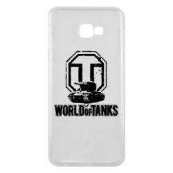 Чехол для Samsung J4 Plus 2018 Логотип World Of Tanks