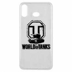 Чехол для Samsung A6s Логотип World Of Tanks