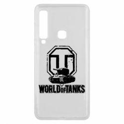Чехол для Samsung A9 2018 Логотип World Of Tanks