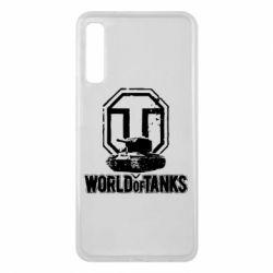 Чехол для Samsung A7 2018 Логотип World Of Tanks