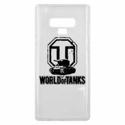 Чехол для Samsung Note 9 Логотип World Of Tanks
