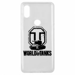 Чехол для Xiaomi Mi Mix 3 Логотип World Of Tanks