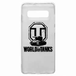 Чохол для Samsung S10+ Логотип World Of Tanks