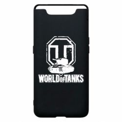 Чехол для Samsung A80 Логотип World Of Tanks