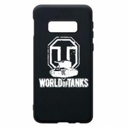 Чехол для Samsung S10e Логотип World Of Tanks