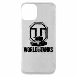 Чехол для iPhone 11 Логотип World Of Tanks