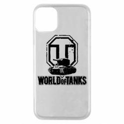 Чохол для iPhone 11 Pro Логотип World Of Tanks