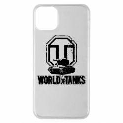 Чохол для iPhone 11 Pro Max Логотип World Of Tanks