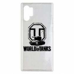 Чохол для Samsung Note 10 Plus Логотип World Of Tanks