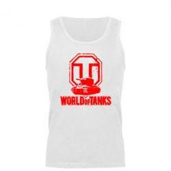 Майка чоловіча Логотип World Of Tanks