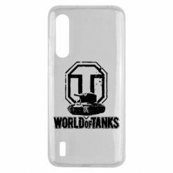 Чехол для Xiaomi Mi9 Lite Логотип World Of Tanks