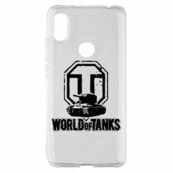 Чехол для Xiaomi Redmi S2 Логотип World Of Tanks