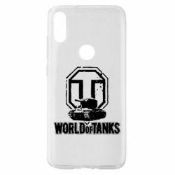 Чехол для Xiaomi Mi Play Логотип World Of Tanks