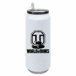 Термобанка 500ml Логотип World Of Tanks