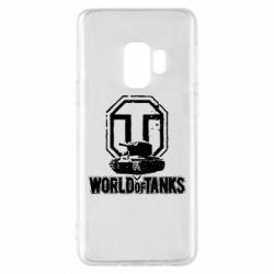Чохол для Samsung S9 Логотип World Of Tanks