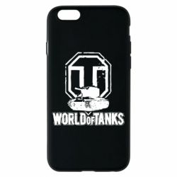 Чехол для iPhone 6/6S Логотип World Of Tanks