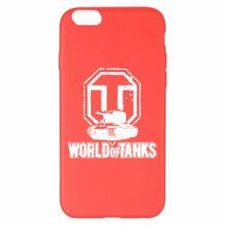 Чехол для iPhone 6 Plus/6S Plus Логотип World Of Tanks