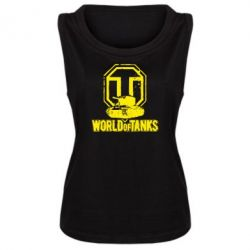 Женская майка Логотип World Of Tanks