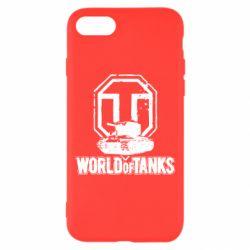 Чехол для iPhone 8 Логотип World Of Tanks