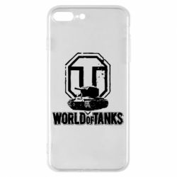 Чехол для iPhone 8 Plus Логотип World Of Tanks