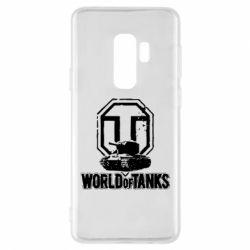 Чехол для Samsung S9+ Логотип World Of Tanks