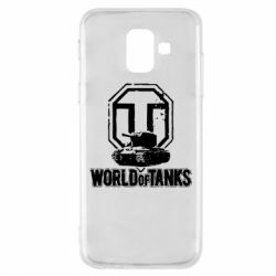 Чехол для Samsung A6 2018 Логотип World Of Tanks
