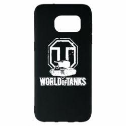 Чехол для Samsung S7 EDGE Логотип World Of Tanks